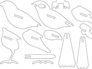 3d Cardboard Animals Template by Bird Ready For Laser Cutting Or 3d Printing By Hexleyosx