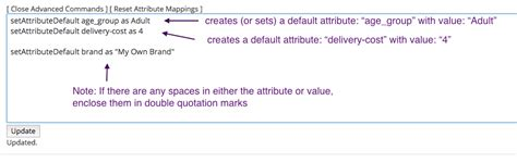 default setter semantic attribute creating mappable attributes exportfeed