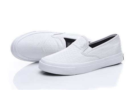 converse loafers converse all white luxurious woven leather chuck
