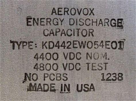 480 joule capacitor aerovox defibrillator capacitors 28 images 480 joule capacitor 28 images pololu capacitor
