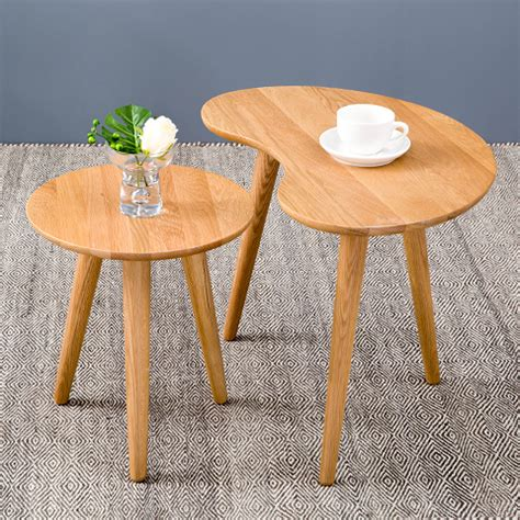 New Nordic Creative Coffee Table Oval Coffee Table Small Small Oval Coffee Table Wood