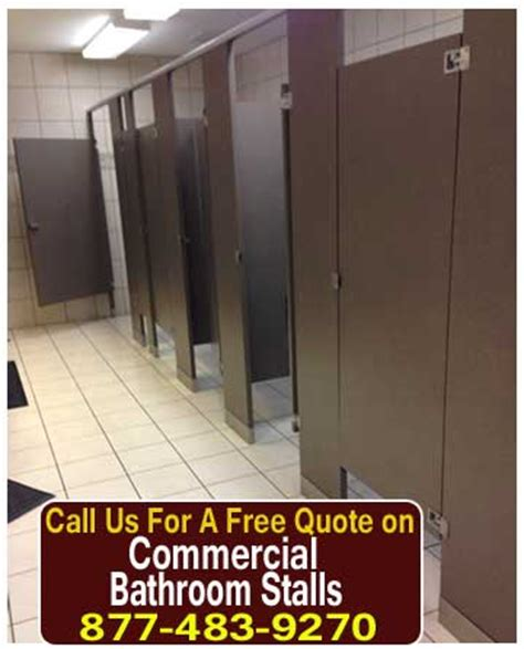 commercial bathroom stalls