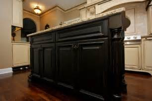 Kitchens With Black Cabinets Antique Black Kitchen Cabinets Pictures Furniture Design
