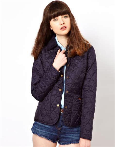 Barbour Quilted Liddesdale Jacket by Barbour Liddesdale Quilted Jacket In Blue Navy Lyst