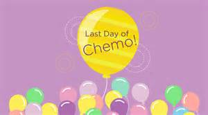 My last day of chemo your photos