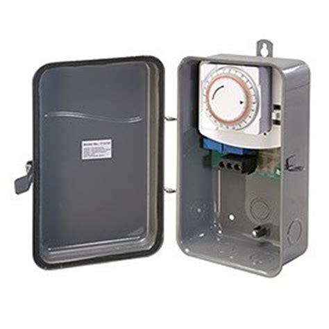 westek tm101r 125 volt spst 40 amp hardwire outdoor heavy