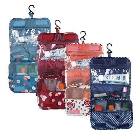 Multy Travel Bag Hypervenom oxford multi function storage hang make up luggage bag travel large capacity cosmetic bags