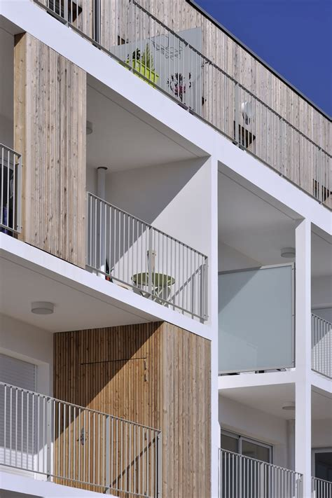 Stylish Balconies Become Integral Parts Of Their Buildings Facade Esteban Apartment Complex By