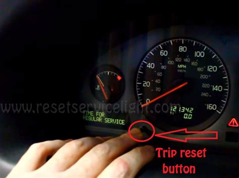reset time  regular service volvo    reset service light reset oil life