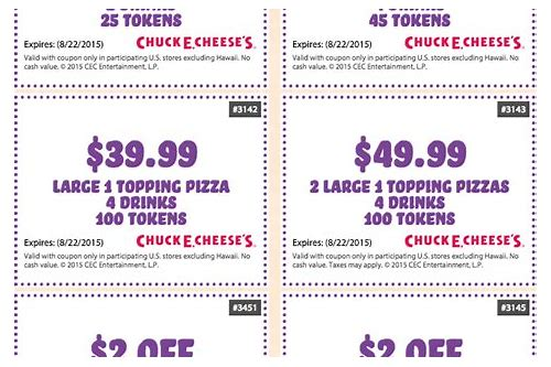chuck e cheese coupons 2018 victorville ca