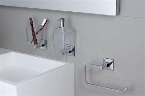 accessori bagno da incollo dispenser di sapone da incollo o da appoggio koh i noor