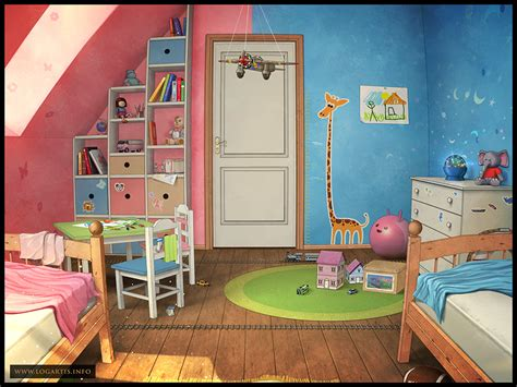 children s room 2 by logartis on deviantart