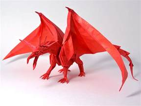 Origami Dragons - get fired up for these origami dragons