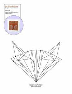 string templates fox string pattern patterns for cards card bases