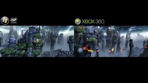 sine mora xbox 360 vs pc 4k video file youtube