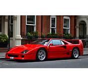 Ferrari F40 Supercars Cars Red Italia Wallpaper  4794x2895 551661