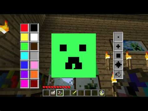 Painting Minecraft by Minecraft Mods Of Painting Mod Draw Paint Your