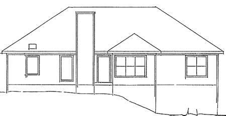 brick ranch house plan 68011hr 1st floor master suite traditional brick ranch home plan 2092ga 1st floor