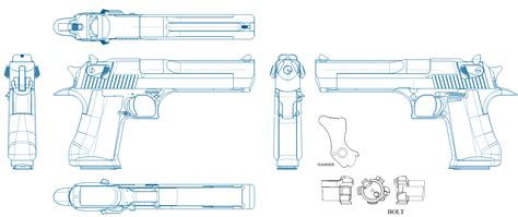 List Of All Us States by Imi Desert Eagle Blueprint Download Free Blueprint For