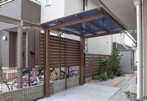 carport freitragend carport und garage alu im holzdesign einzelcarport