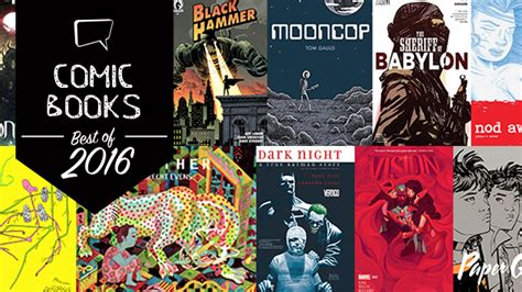25 of the best comics the 25 best comic books of 2016 comics lists