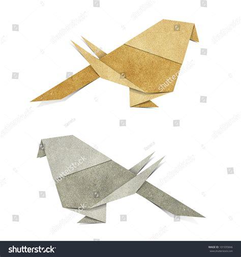 origami parakeet origami bird zebra parakeet made from recycle paper