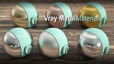 vray sketchup chrome tutorial 3ds max vray realistic metal material tutorial coper