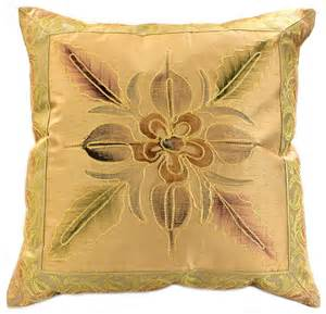 painted deluxe pillow cover banarsi designs
