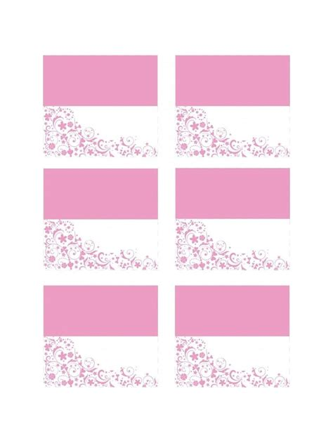 birthday place card templates free free hen place cards free delivery on orders 163 30