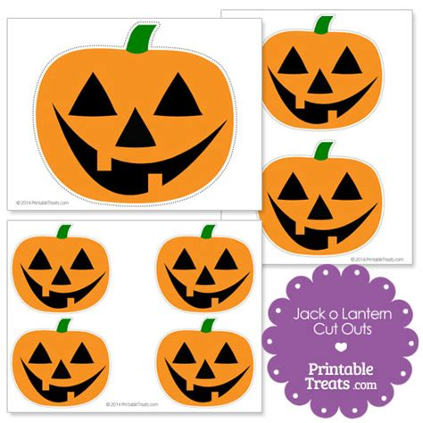 printable jack o lantern cute jack o lantern faces printable