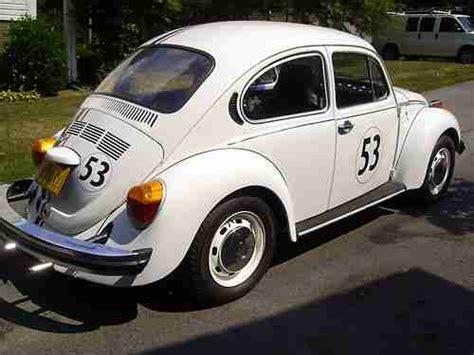 New States Apparel The Bug Herbie Vw buy used 1974 vw beetle bug herbie the bug replica look in roanoke virginia united