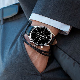 Vincero Luxury Men's Chrono S Wrist Watch   Top Grain