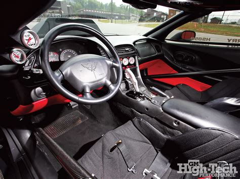 Custom Corvette Interior by 301 Moved Permanently