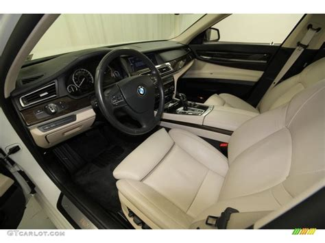 Bmw Oyster Interior by Oyster Black Nappa Leather Interior 2010 Bmw 7 Series