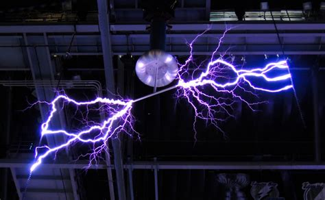 Tesla Lightning Tesla Coil Lightning Ta Bay Lightning Amalie Arena