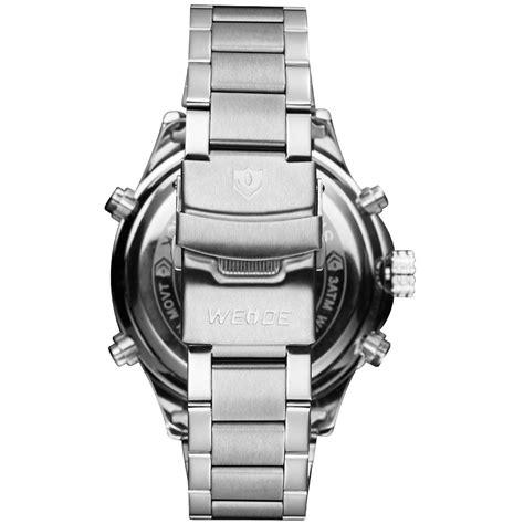 Jam Tangan Oulm Quartz Stainless Steel weide jam tangan analog stainless steel wh6306 white jakartanotebook