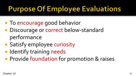 purpose employee evaluation ppt performance appraisals powerpoint presentation id