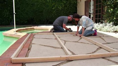 build an outdoor daybed hgtv how to build an outdoor daybed video hgtv