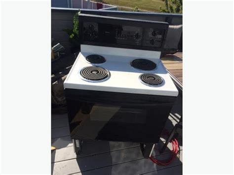 bottom drawer on electric oven electric self cleaning kenmore stove north saanich