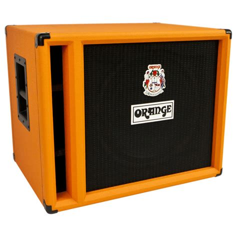Orange Bass Cabinet by Orange Obc115 Bass Speaker Cabinet At Gear4music