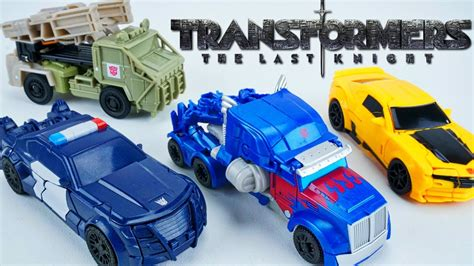 Transformers Turbo Charger Autobot Hound The Last 1 transformers the last turbo one step changers barricade hound optimus bee wave 1