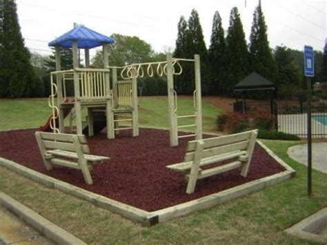 backyard playground mulch 15 best images about mulch designs on pinterest