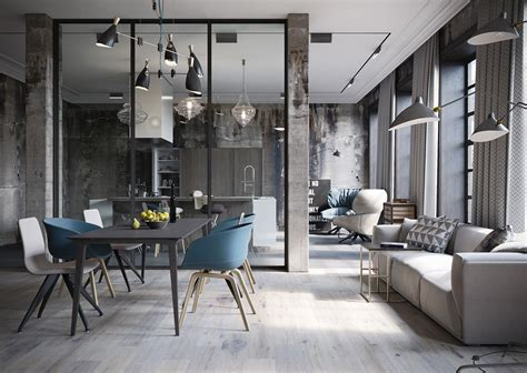 industrial look industrial style design in this amazing loft recreation