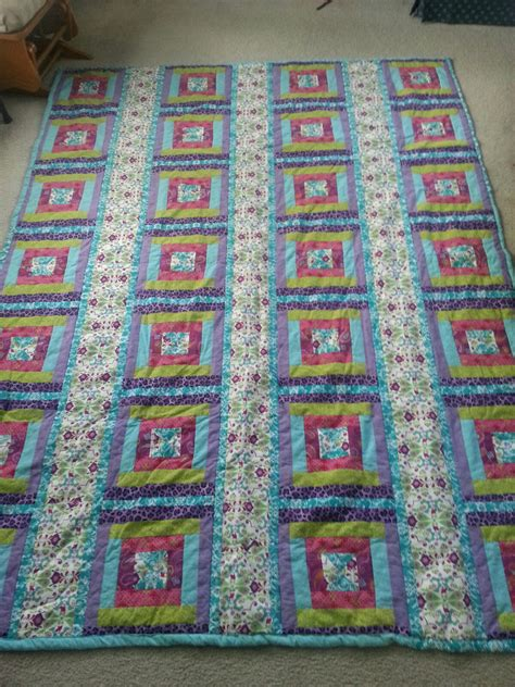 Dimensions Of A Crib Quilt by Crib Size Quilt By Craftyquilting On Etsy