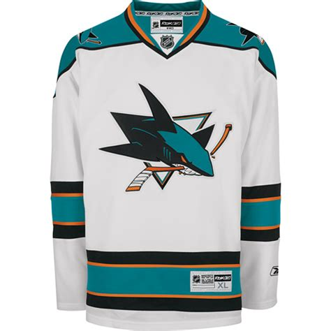design nhl jersey online san jose sharks premier roads nhl hockey jersey blank