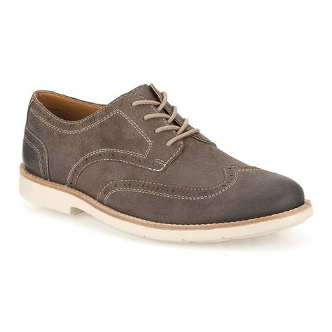Clarks Raspin clarks raspin brogue mens taupe shoe ebay