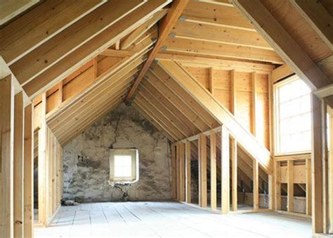 Dachstuhl Mit Gaube by Dormers In Attic Above Garage Home Decorating