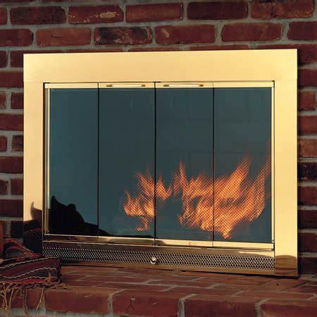 modern fireplace glass doors 17 best ideas about fireplace glass doors on