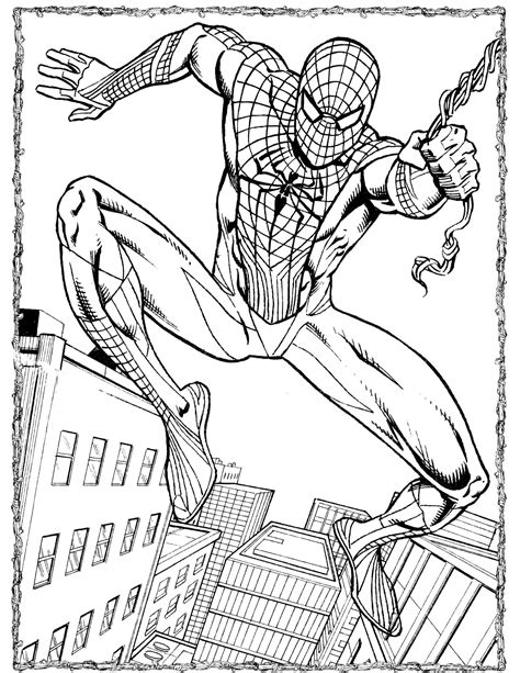 disney coloring pages spiderman spider man 49 coloringcolor com