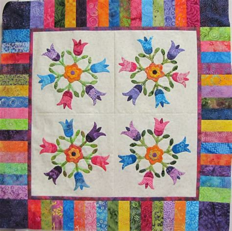 168 best images about quilts tulip quilts on